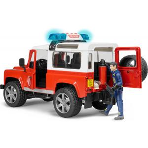 Land Rover Defender s figurom