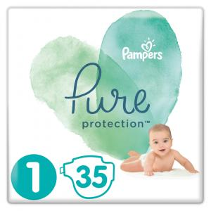 PAMPERS PURE PROTECTION PELENE VEL. 1