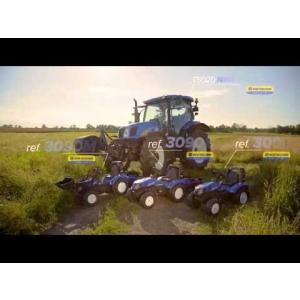 Traktor New Holland  s prikolicom